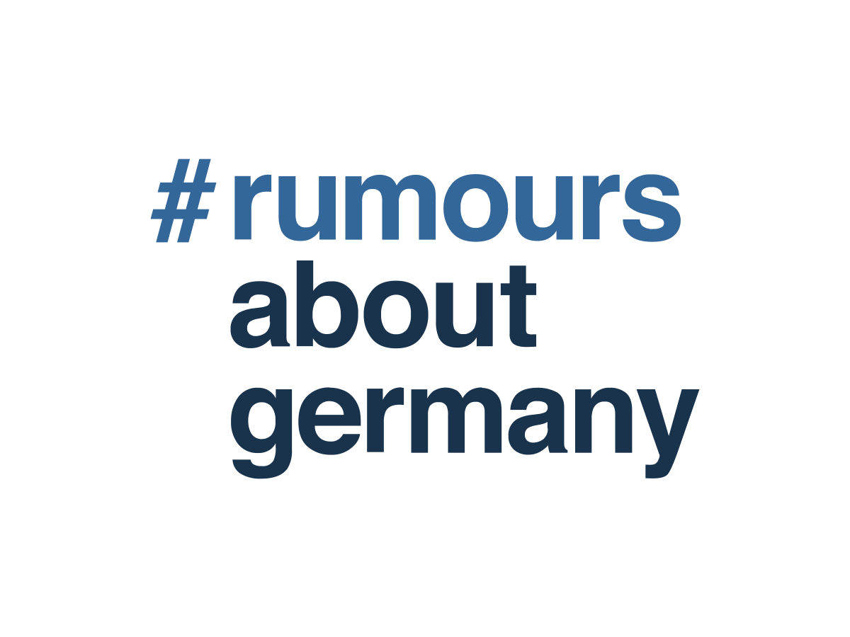 rumours about germany