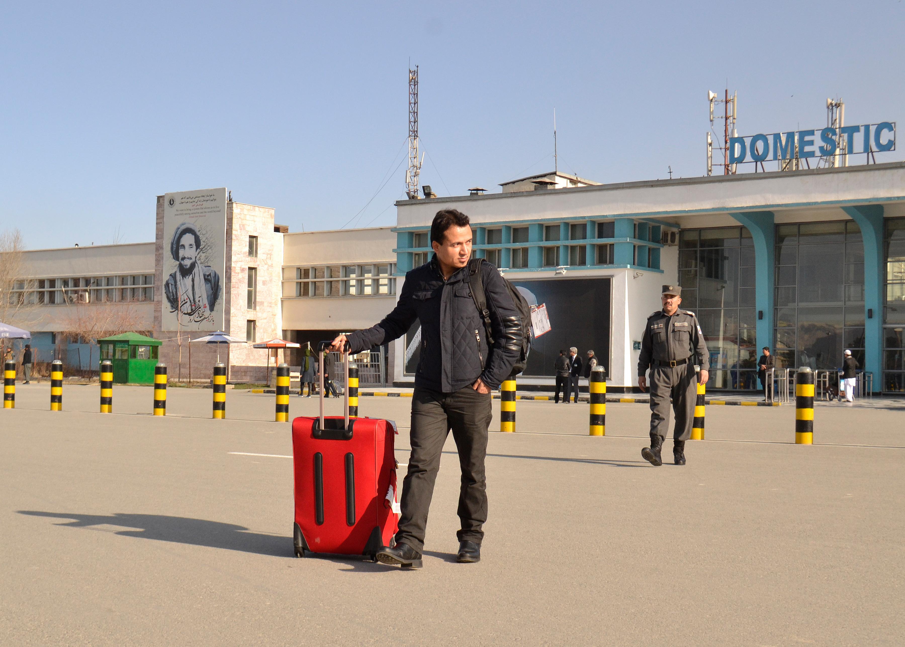 Abschiebeflug nach Afghanistan in Kabul angekommen